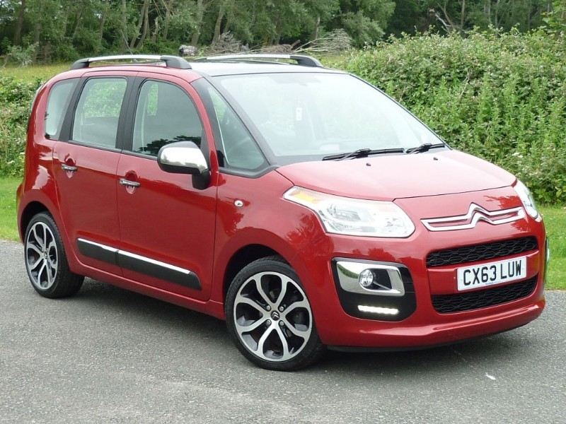 used Citroen C3 Picasso Selection TD WITH 2 YEAR FREE SERVICING* in wirral-cheshire