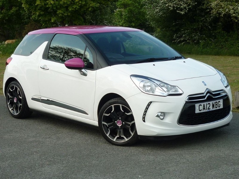 used Citroen DS3 E-HDI DSTYLE PLUS WITH 2 YEAR FREE SERVICING* in wirral-cheshire