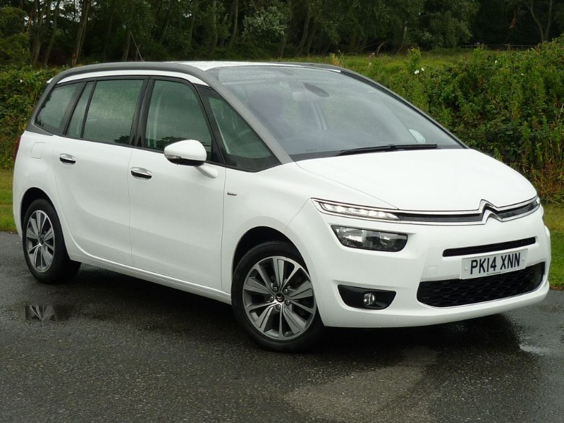 used Citroen Grand C4 Picasso E-HDI AIRDREAM EXCLUSIVE WITH 2 YEAR FREE SERVICING* in wirral-cheshire
