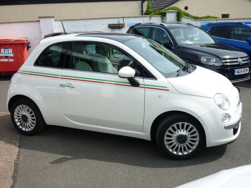 used Fiat 500 LOUNGE DUALOGIC AUTO in wirral-cheshire