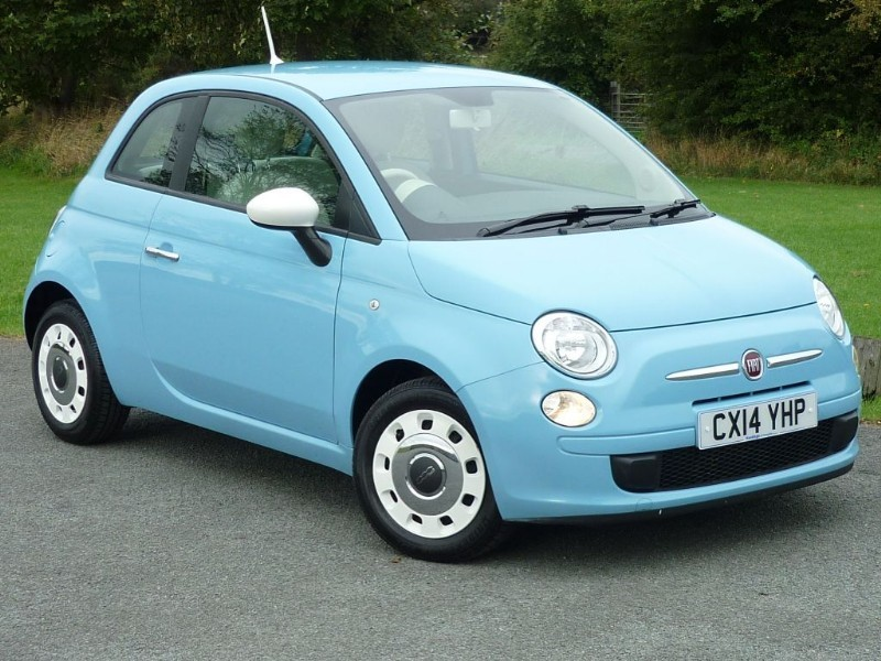 used Fiat 500 COLOUR THERAPY WITH 2 YEAR FREE SERVICING* in wirral-cheshire