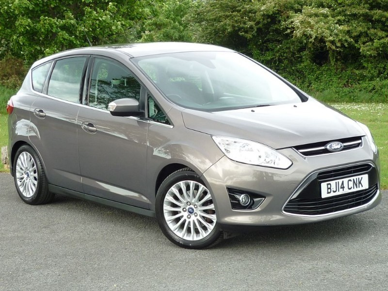 used Ford C-Max TITANIUM TDCI AUTO WITH 2 YEAR FREE SERVICING* in wirral-cheshire