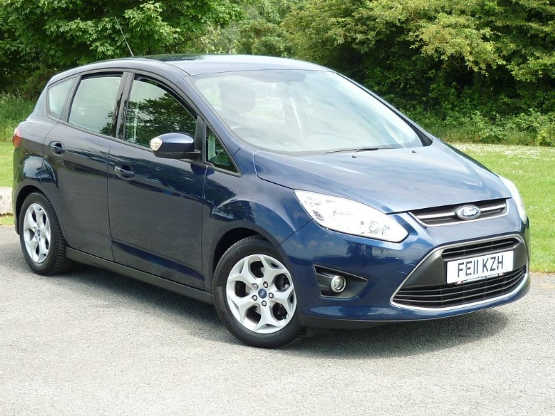 used Ford C-Max ZETEC WITH 2 YEAR FREE SERVICING* in wirral-cheshire