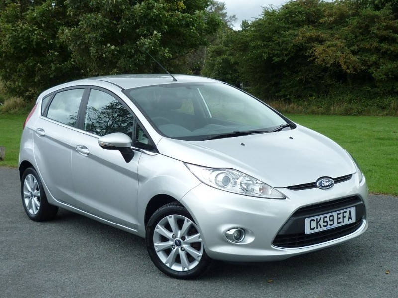 used Ford Fiesta ZETEC in wirral-cheshire