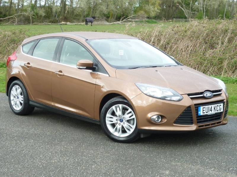 used Ford Focus TITANIUM NAVIGATOR 125 Eco Boost WITH 2 YEAR FREE SERVICING* in wirral-cheshire