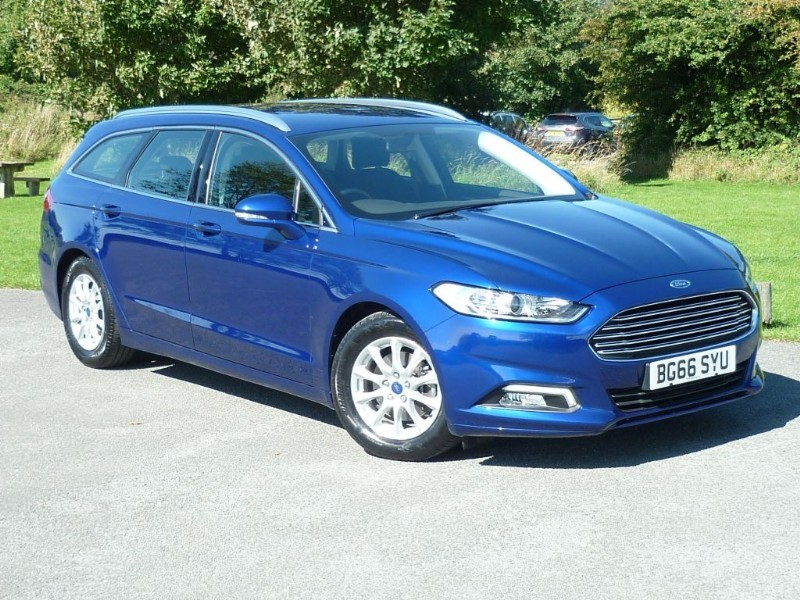 used Ford Mondeo ZETEC ECONETIC TDCI [NAVIGATION] ESTATE WITH 2 YEAR FREE SERVICING* in wirral-cheshire