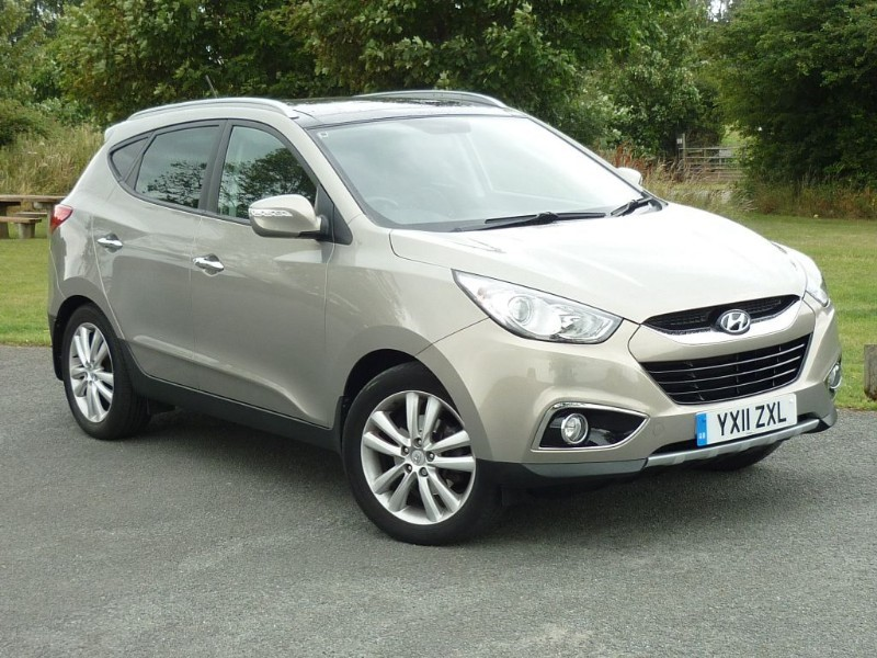 used Hyundai ix35 PREMIUM CRDI 4WD AUTO WITH 2 YEAR FREE SERVICING* in wirral-cheshire