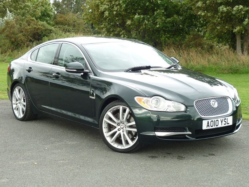 used Jaguar XF V6 PREMIUM LUXURY in wirral-cheshire