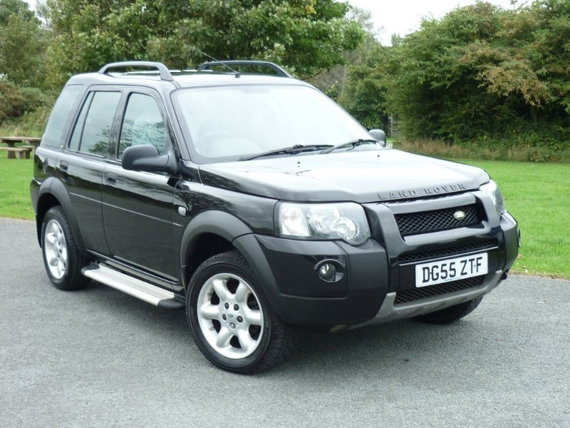 used Land Rover Freelander TD4 FREESTYLE in wirral-cheshire