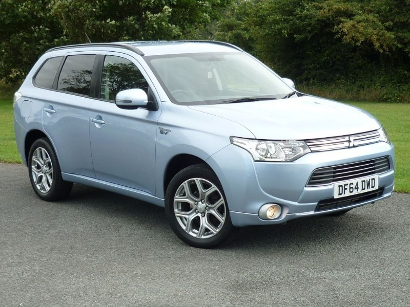 used Mitsubishi Outlander PHEV GX 3H [LEATHER] in wirral-cheshire