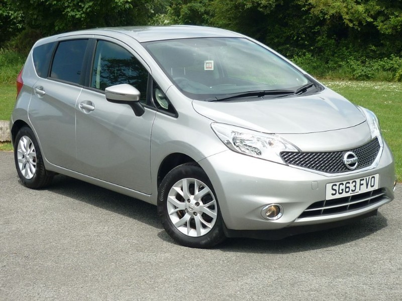 used Nissan Note ACENTA DCI WITH 2 YEAR FREE SERVICING* in wirral-cheshire