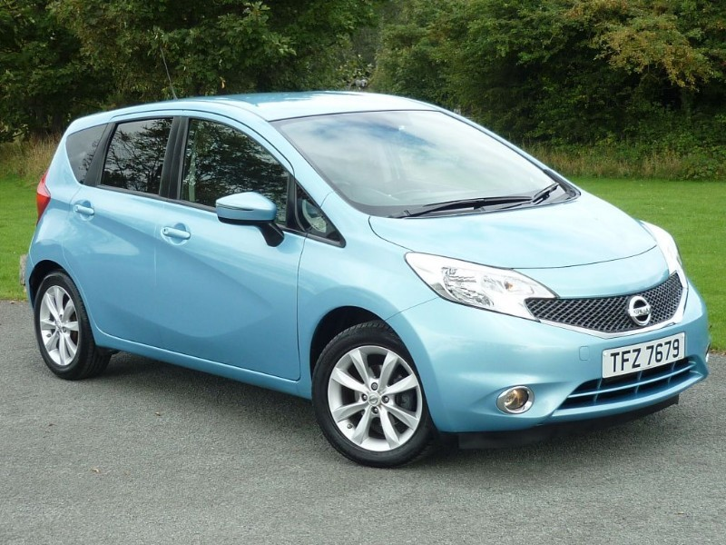 used Nissan Note ACENTA PREMIUM DIG-S WITH 2 YEARS FREE SERVICING* in wirral-cheshire