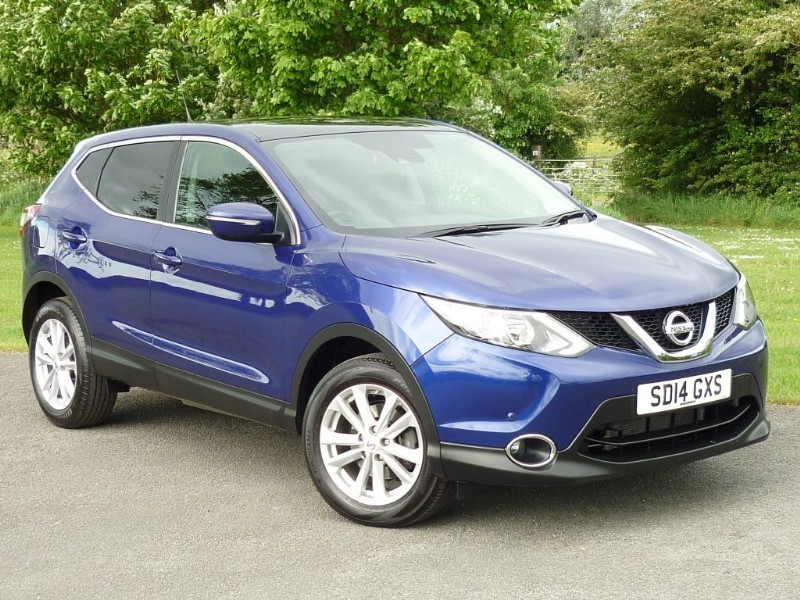 used Nissan Qashqai ACENTA PREMIUM DIG-T WITH 2 YEAR FREE SERVICING* in wirral-cheshire