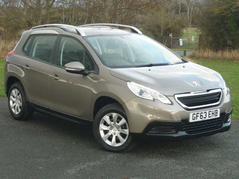 used Peugeot 2008 Access+ HDi WITH 2 YEAR FREE SERVICING* in wirral-cheshire