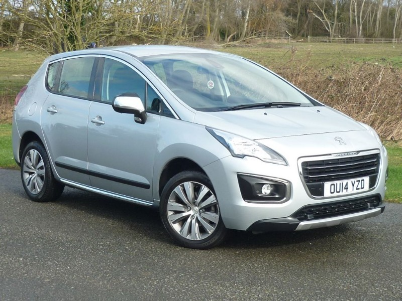 used Peugeot 3008  Active e-HDi EGC AUTO  in wirral-cheshire