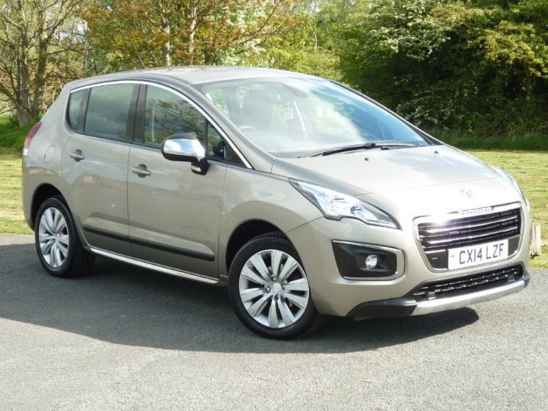 used Peugeot 3008 Active HDI  in wirral-cheshire