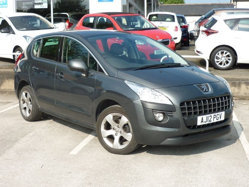 used Peugeot 3008 ACTIVE HDI FAP WITH 2 YEAR FREE SERVICING* in wirral-cheshire