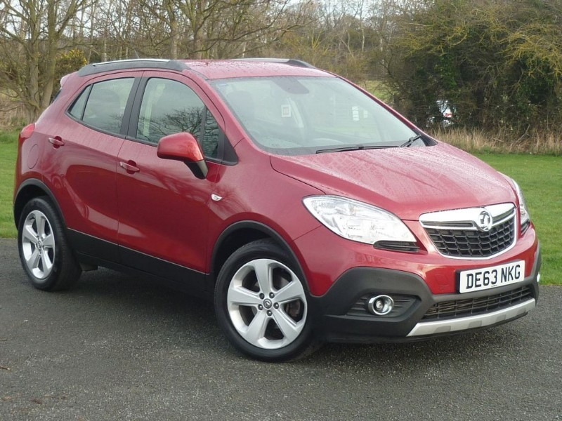 used Vauxhall Mokka EXCLUSIV CDTI S/S WITH 2 YEAR FREE SERVICING* in wirral-cheshire