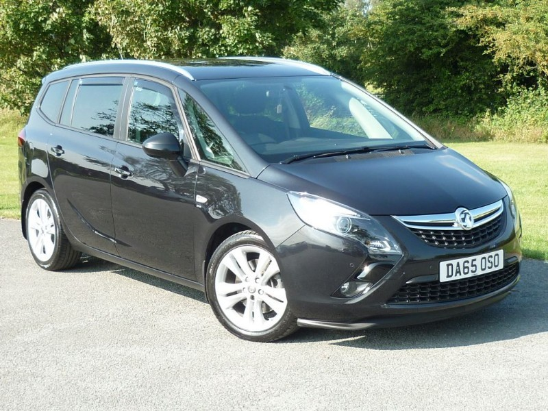 used Vauxhall Zafira Tourer SRI CDTI S/S in wirral-cheshire