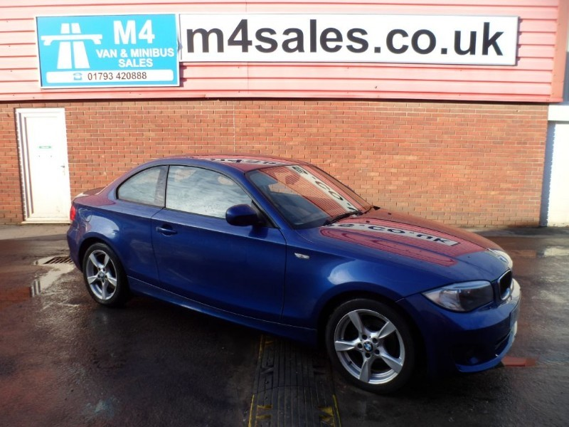 used BMW 118d SPORT 1 SERIES COUPE WITH A/C in wiltshire