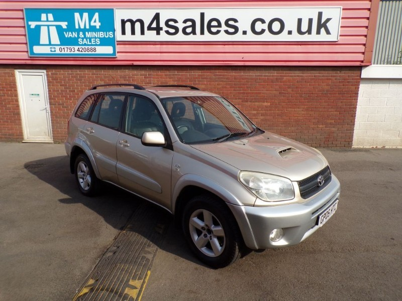 used Toyota RAV4 XT4 D-4D A/C  in wiltshire