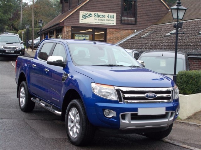 used Ford Ranger 2.2 TDCi Limited - NO VAT - SAT NAV in surrey-sussex