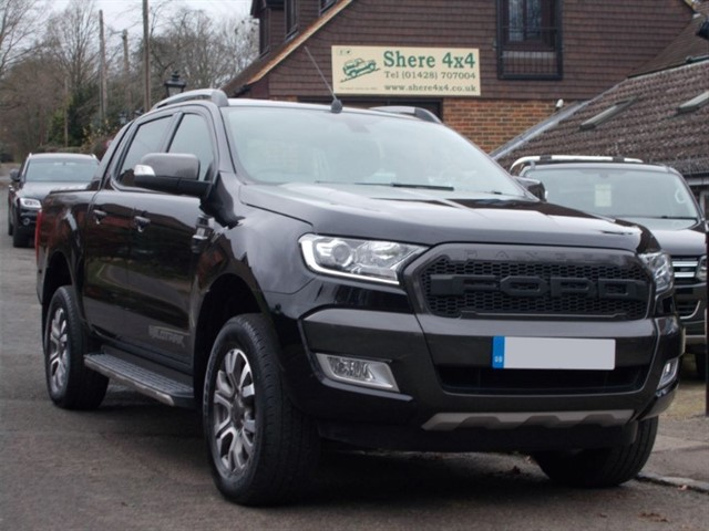 used Ford Ranger 3.2 TDCi Wildtrak Doublecab - NO VAT TO PAY in surrey-sussex