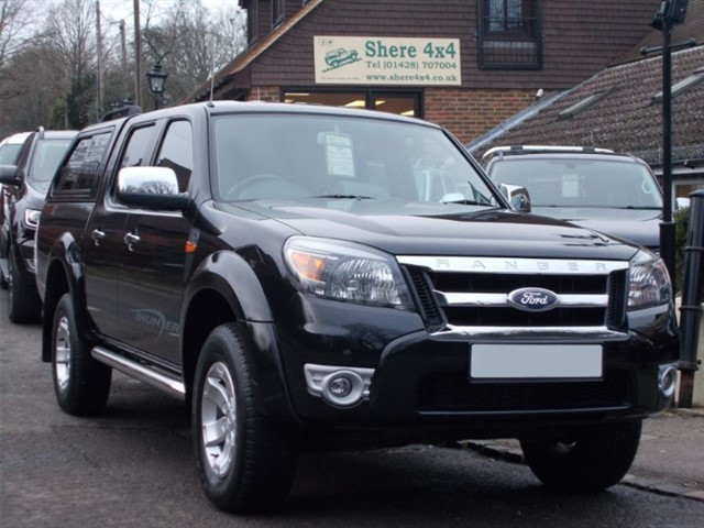 used Ford Ranger 2.5 XLT Thunder Doublecab - NO VAT TO PAY in surrey-sussex
