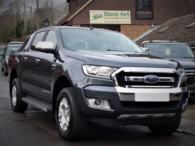 used Ford Ranger 2.2 TDCi Limited Doublecab Auto  in surrey-sussex