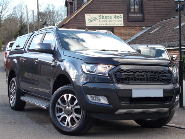 used Ford Ranger 3.2TDCi Wildtrak Auto Doublecab - NO VAT - WITH HARDTOP in surrey-sussex