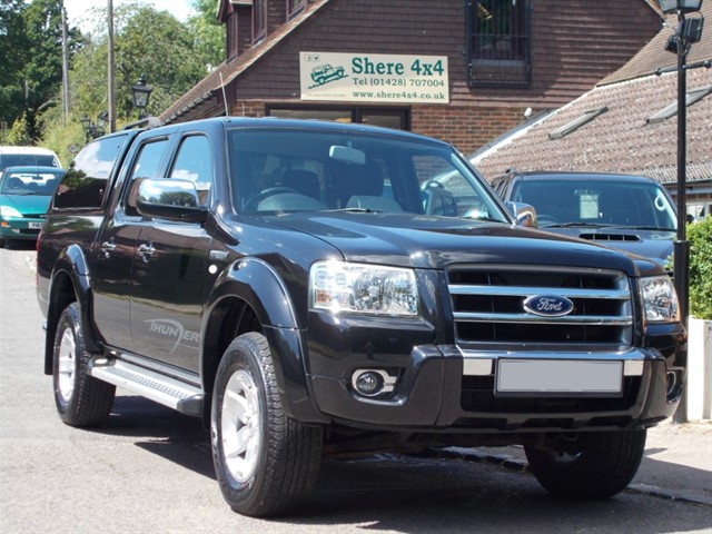 used Ford Ranger 2.5TDCi Thunder Doublecab - NO VAT - WITH HARDTOP in surrey-sussex