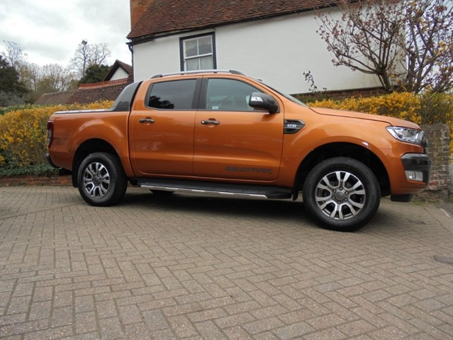 used Ford Ranger 3.2 TDCi Wildtrak Auto Doublecab - NO VAT TO PAY in surrey-sussex