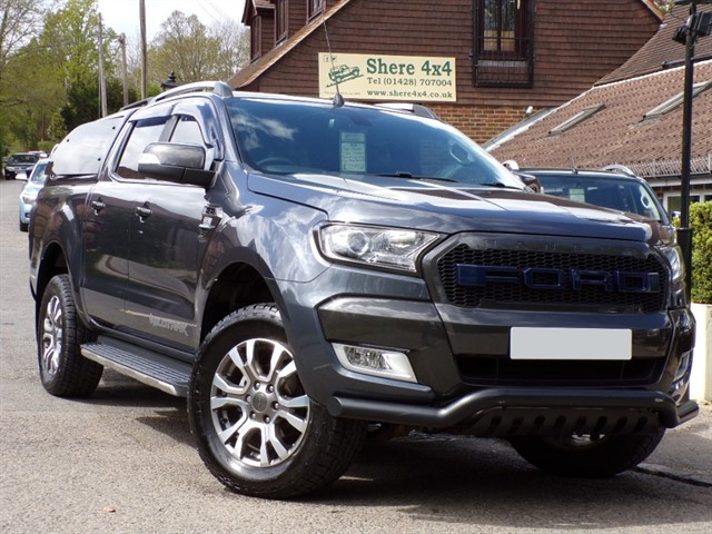 used Ford Ranger 3.2TDCi Wildtrak Automatic Doublecab - NO VAT TO PAY in surrey-sussex