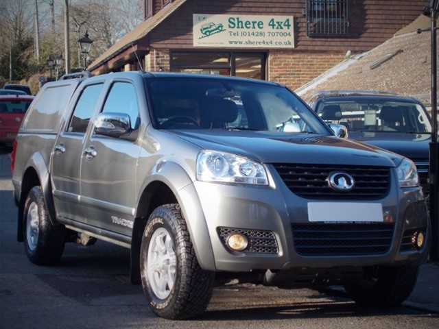 used Great Wall Steed 2.0TD Tracker Doublecab - NO VAT TO PAY in surrey-sussex