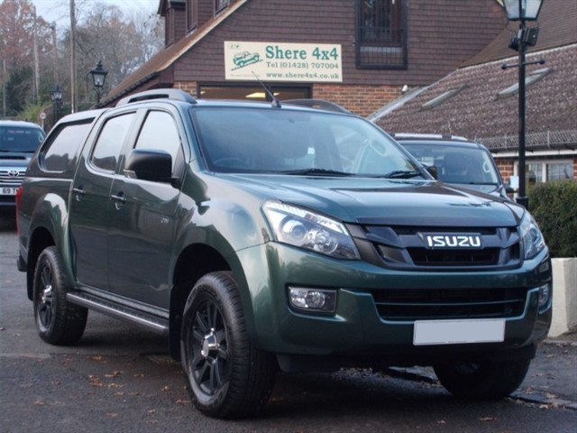 "used Isuzu D-Max 2.5 TD ""Huntsman"" Utah Vision  - NO VAT in surrey-sussex"
