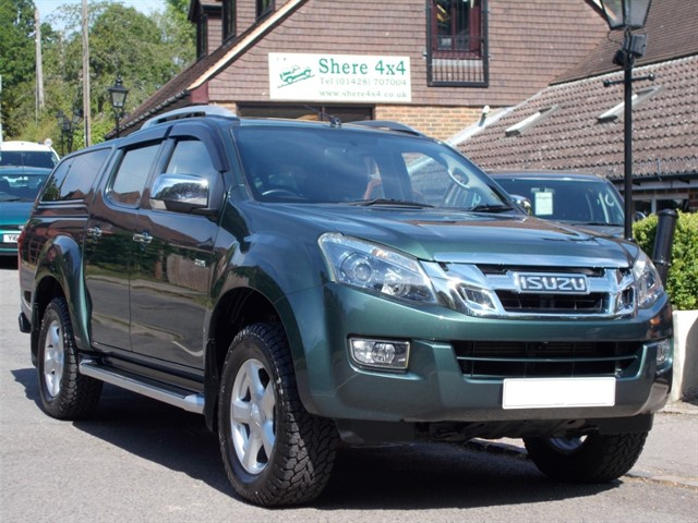 used Isuzu D-Max 2.5TD Utah Vision Doublecab - NO VAT TO PAY in surrey-sussex