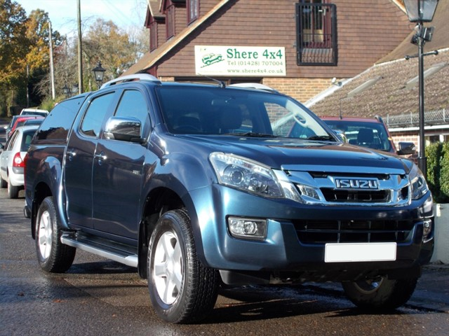 used Isuzu D-Max 2.5 TD Utah Vision Doublecab - WITH HARDTOP in surrey-sussex