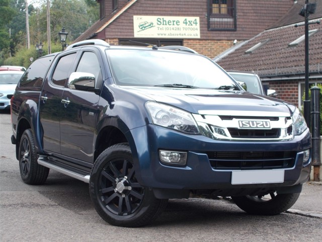 used Isuzu D-Max 2.5 TD Auto Utah Vision Doublecab - NO VAT TO PAY in surrey-sussex