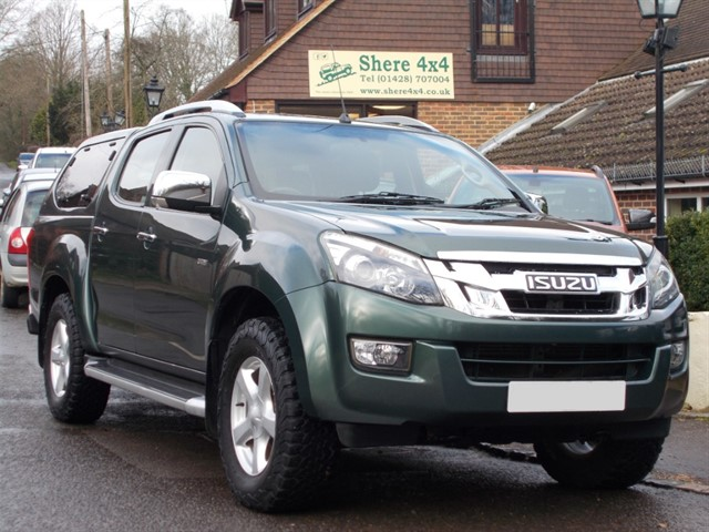 used Isuzu D-Max 2.5 TD Utah Doublecab - WITH HARDTOP in surrey-sussex
