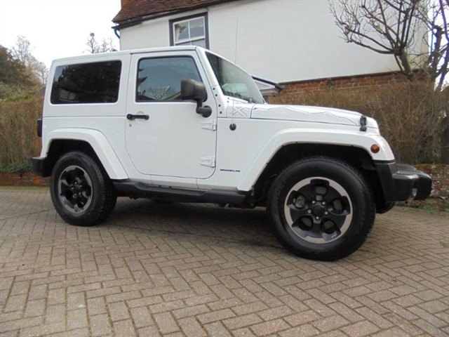 used Jeep Wrangler CRD X Edition Sat/nav 1 Owner in surrey-sussex