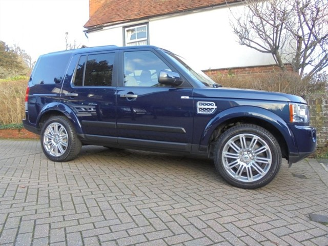 used Land Rover Discovery 4 SDV6 HSE SAT/NAV 7 SEATS in surrey-sussex