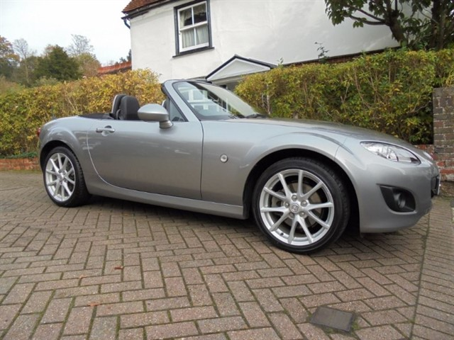 used Mazda MX-5 I SPORT TECH Leather-heated seats-Bose 7 Mazda services in surrey-sussex