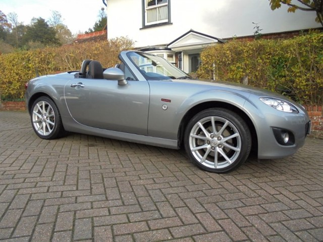 used Mazda MX-5 MIYAKO Roadster-Coupe Leather 24k 6 Mazda services in surrey-sussex