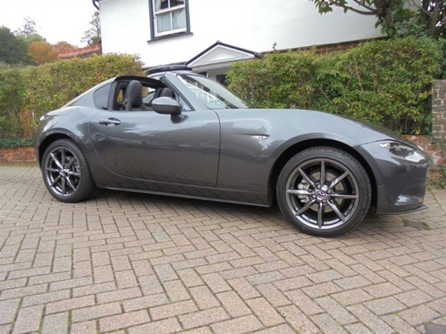 used Mazda MX-5 RF SPORT SAT/NAV LEATHER BOSE in surrey-sussex