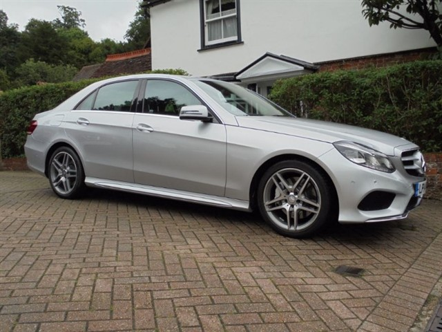 used Mercedes E350 BLUETEC AMG SPORT SAT/NAV FMBSH in surrey-sussex