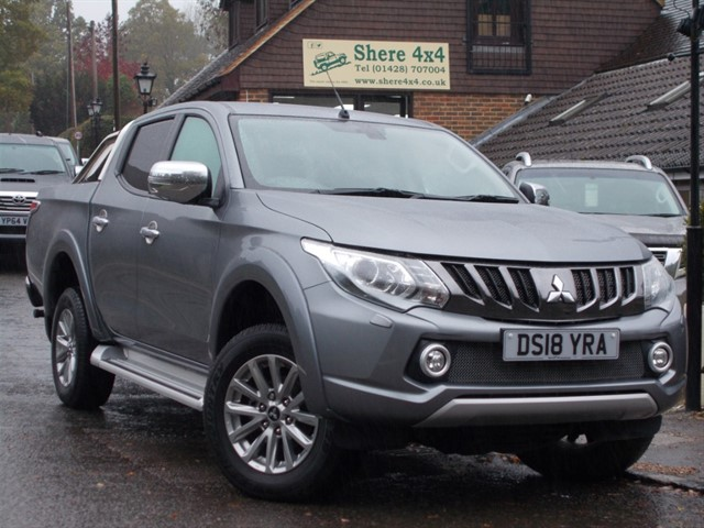 used Mitsubishi L200 2.4 DID Barbarian Automatic Doublecab - NO VAT TO PAY in surrey-sussex