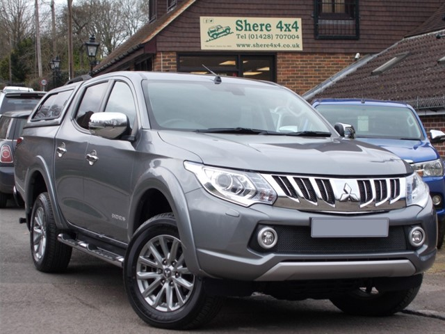 used Mitsubishi L200 2.4 DID Barbarian Auto Doublecab - NO VAT TO PAY in surrey-sussex