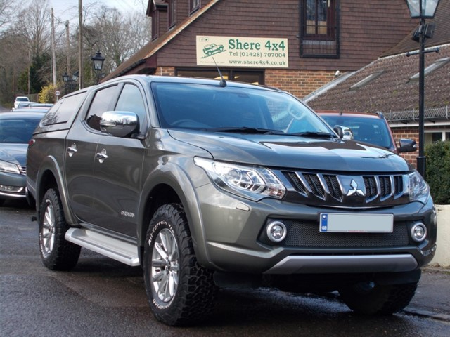 used Mitsubishi L200 2.4 DID Barbarian Doublecab - NO VAT - HARDTOP in surrey-sussex