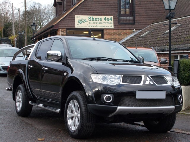 used Mitsubishi L200 2.5 DID Barbarian Doublecab Auto 176Bhp - NO VAT TO PAY in surrey-sussex