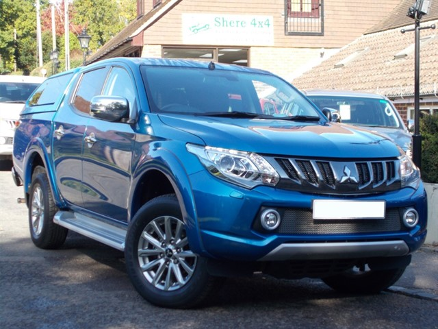 used Mitsubishi L200 2.4 DID Barbarian 178 Doublecab - WITH HARDTOP in surrey-sussex